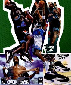 "Shawn ""The Reignman"" Kemp Basketball Legends, Basketball Shoes, Nba, Vintage Sneakers, My Passion, Marathon, Reebok, Hoop, Tennis"