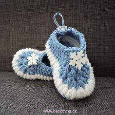 Návody na ponožky, papučky, balerínky Baby Shoes, Crochet, Fashion, Baby Vest, Moda, Fashion Styles, Baby Boy Shoes, Ganchillo, Crocheting