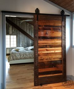 woodworking projects: DIY:: Sliding Barn Door Hardware- Easier than you. Woodworking Projects Diy, Woodworking Plans, Woodworking Furniture, Popular Woodworking, Furniture Plans, Kids Furniture, Woodworking Jointer, Wood Barn Door, Wooden Barn