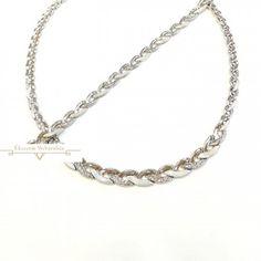 Ezüst Nyakék (méret:47) EE 80134 Chain, Jewelry, Jewlery, Jewerly, Necklaces, Schmuck, Jewels, Jewelery, Fine Jewelry