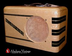 Vintage Melody King guitar amplifier. Pearloid! by eric_ernest, via Flickr