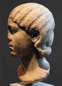Julia Mamaea. Marble. Ca. 222—235 CE. Inv. No. L.2007.18.1. New York, the Metropolitan Museum of Art