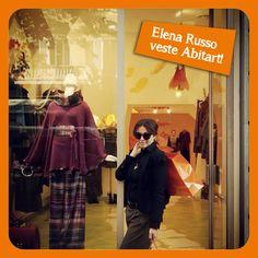Elena Russo veste Abitart!