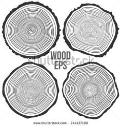 Find Set Four Vector Tree Rings Background stock images in HD and millions of other royalty-free stock photos, illustrations and vectors in the Shutterstock collection. Wood Logo, Vector Trees, Woodworking Logo, Woodworking Classes, Woodworking Ideas, Tree Logos, Tree Rings, Clip Art, Graphic Design Inspiration