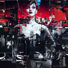 Collage Artist Masterfully Controls Chaos by Derek Gores