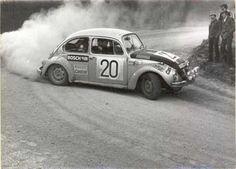 VW typ 1 Rally. Power slide
