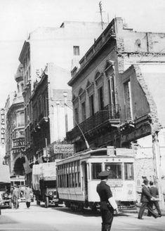 C.Pellegrini 318.Demolición por la traza de la Av.9 de Julio.Finales década del 30'. Street View, Vintage, 1930s, Finals, Cities, Pictures, Vintage Comics