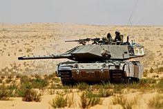 Magach 7 - Israeli modernised version of M60A3.