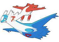 Latios and Latias Pokemon