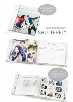 Shutterfly Photo Guestbooks + Pin-it to Win-it Sweepstakes!  Read more - http://www.stylemepretty.com/2013/07/18/shutterfly-photo-guestbooks-pin-it-to-win-it-sweepstakes/