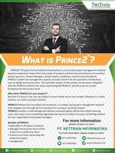PRINCE2® (Projects IN Controlled Environments) is a structured project management method based on experience drawn from thousands of projects and from the contributions of countless project sponsors, Project Managers, project teams, academics, trainers and consultants.  #InfoNetTrain #Training #Prince2 #Project #Management #Structured #Academics #Experience #Contributions