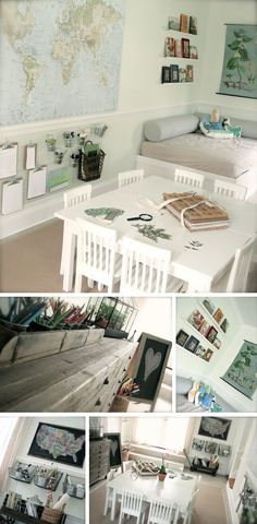 {Create It and They Will Come: Playful Learning Spaces} *the little changes we make in our children's spaces can make a big difference...