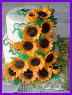 2 patrový se slunečnicemi
