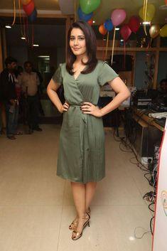 Raashi Khanna Stills In green Dress At Mirchi 95 Bollywood Wallpaper BOLLYWOOD WALLPAPER : PHOTO / CONTENTS  FROM  IN.PINTEREST.COM #WALLPAPER #EDUCRATSWEB