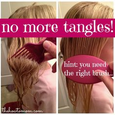No more tangles - great tip!!