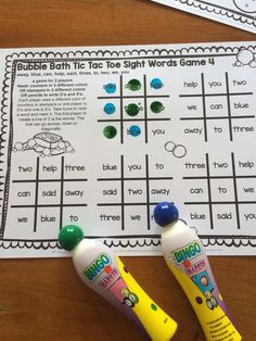 Let& make learning sight words fun with some games! Children need to experience sight words in a variety of situations. So I created some . Pre Primer Sight Words, Dolch Sight Words, Sight Word Games, Literacy Games, Phonics Games, Fun Games, Reading Games, Reading Strategies, Classroom Rules