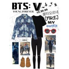 "BTS: V ""Fire"" M/V Outfit"