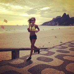 Model Fitness! 12 Instagrams of Izabel Goulart Working Out - Rio De Janiero