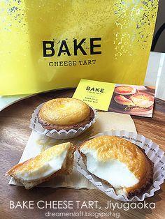 Hokkaido Baked Cheese Tart by Dreamersloft Bake Cheese Tart, Cheese Tarts, Hokkaido Cheese Tart Recipe, Tart Recipes, Baking Recipes, Japanese Cheese Tart, Japanese Cheesecake Recipes, Egg Tart, Pastel De Nata