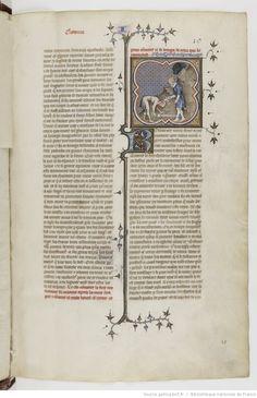 Grandes Chroniques de France. Date d'édition : 1375-1380 10r