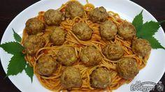 Húsgombóc spagetti