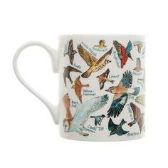 Picturemaps birds mug