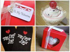 Sock Cupcake Ladies or Mens Valentines  Heart by SockNRollUK, £4.00