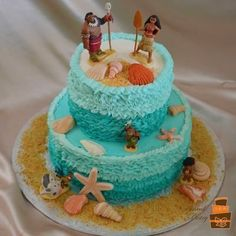 Image result for moana cake toppers