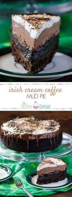 Irish Cream Coffee Mud Pie #SundaySupper