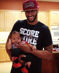 Kaepernick with a true #AuthenticFan