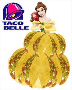 she's my kind of princess - Taco Belle