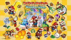 Paper Mario Sticker Star 3DS Bowser vient faire des siennes durant la fête de stickers et Mario doit sauver le royaume Champignon et la princesse Peach.
