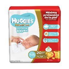 Huggies Recien Nacidos 20 unidades.