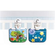 Tiny Love Double-Sided Crib Toy  is an engaging crib toy that can be converted into a charming bedtime soother.