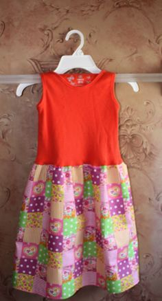 DIY Tank Top Dress Tutorial---in case we can't find one we like. Source by mommiewarbucks dresses diy Baby Girl Dresses Diy, Little Girl Dresses, Girl Outfits, Girls Dresses, Trendy Dresses, Nice Dresses, Summer Dresses, Dress Shirts For Women, Clothes For Women