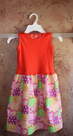 Little girl tank dress.