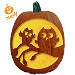 Pumpkin Carving Patterns and Free Pumpkin Carving Patterns and Stencils for your Halloween Jack O Lantern - Two of a Kind