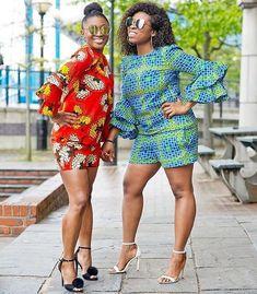 Latest Ankara Shorts/Bum Shorts For Gorgeous Ladies – Ankara Styles for Women Short African Dresses, African Print Dresses, African Print Fashion, Africa Fashion, African Fashion Dresses, Ankara Fashion, African Prints, African Outfits, African Attire