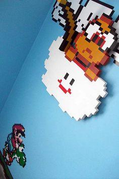 Lakitu Wall Hanging, Mario Bedroom via Flickr.