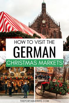 This Germany Christmas market itinerary covers the five best Christmas markets in Germany. Cologne Christmas Market, Nuremberg Christmas Market, Christmas Markets Germany, German Christmas Markets, Christmas Markets Europe, Christmas Travel, Christmas Fun, Prague Christmas, Christmas Sweets