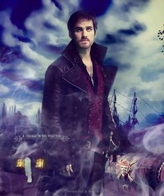 Once upon a time...captain hook.