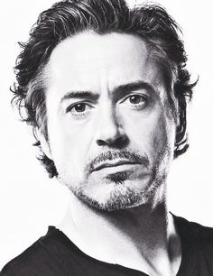 I don't know if I can handle the longer almost Sherlock hair and the Iron Man facial hair.  That might be too much sexy.