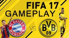 FIFA 17 GAMEPLAY | BAYERN MÜNCHENVS BORUSSIA DORTMUND FEAT. FEELFIFA [FIFA 17 GAMEPLAY DEUTSCH] Fifa 17, Ea Fifa, Online Business, Games, Videos, Youtube, Coins, Free, Borussia Dortmund