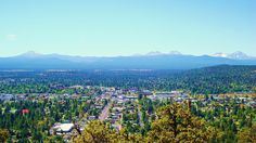 day hike @ Pilot Butte - view of Bend