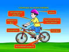 ΚΥΚΛΟΦΟΡΙΑΚΗ ΑΓΩΓΗ - ΕΥΕΛΙΚΤΗ ΖΩΝΗ 2014 - 2015 Greek Language, Back To School, Bicycle, Education, Learning, Youtube, Bike, Bicycle Kick, Greek
