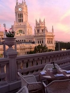 luxury suites madrid view from hotel