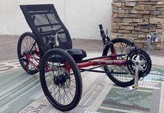 Sun EZ Tad SX - Comfort Trike: Custom Sun EZ Tad SX - Comfort Trike from Utah Trikes