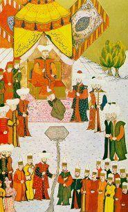 Levnî'den Bir minyatür: Şehzâdelerin sünnet hazırlığı.
