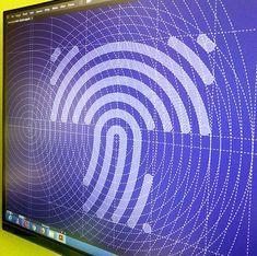 "Letter ""T"" + fingerprint Best Logo Design, Web Design, Graphic Design, Fingerprint Id, Generative Art, Letter T, Logo Concept, Data Visualization, Logos"