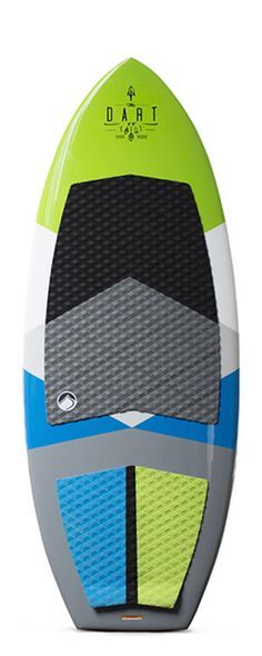"""When trying to describe Shawn Watson's new surfboard, the DART, one word comes to mind… FAST!   Unlike some other boards that the rider needs to constantly put in motion to keep in the pocket, this boards stays in the sweet spot with ease. Not to be confused with the """"ease"""" of a lazy man's board, though, the DART can rocket up and down the wake quicker and more playfully than others when really driven."""
